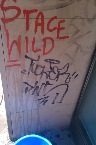 ärgerliche Graffitis preiswert und schonend entfernen
