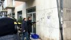 Entfernen von Graffiti