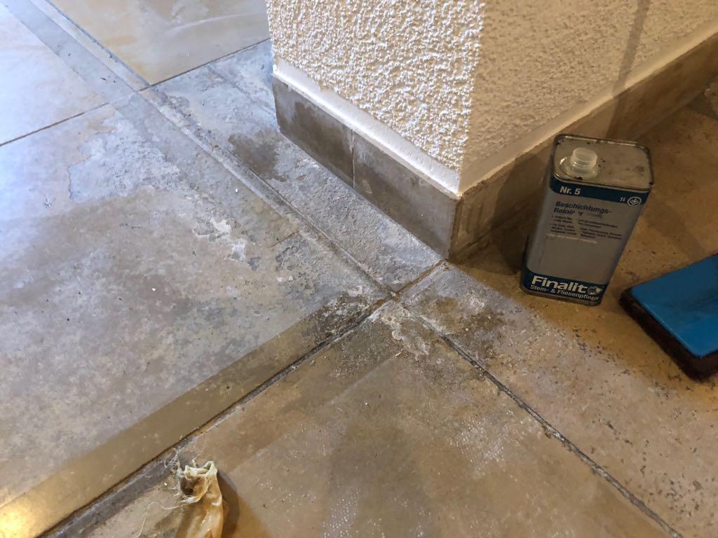 Sanierung von naturstein finalit m nchen - Zementschleier von fliesen entfernen ...