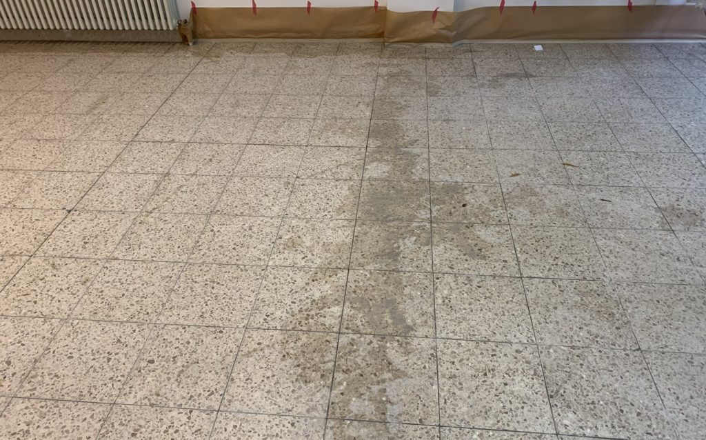 Betonwerkstein reinigen und imprägnieren